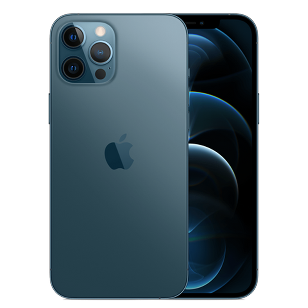 iPhone 12 Pro Max, Pacific Blue, 256GB (Official Stock)