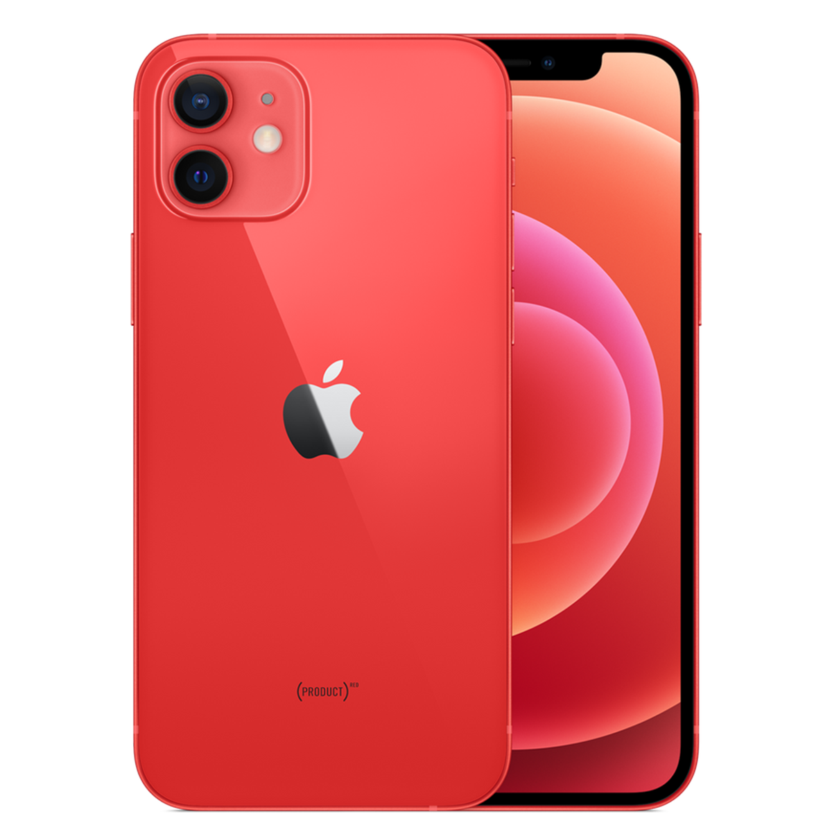 iPhone 12, (PRODUCT)Red, 64GB (Official Stock)