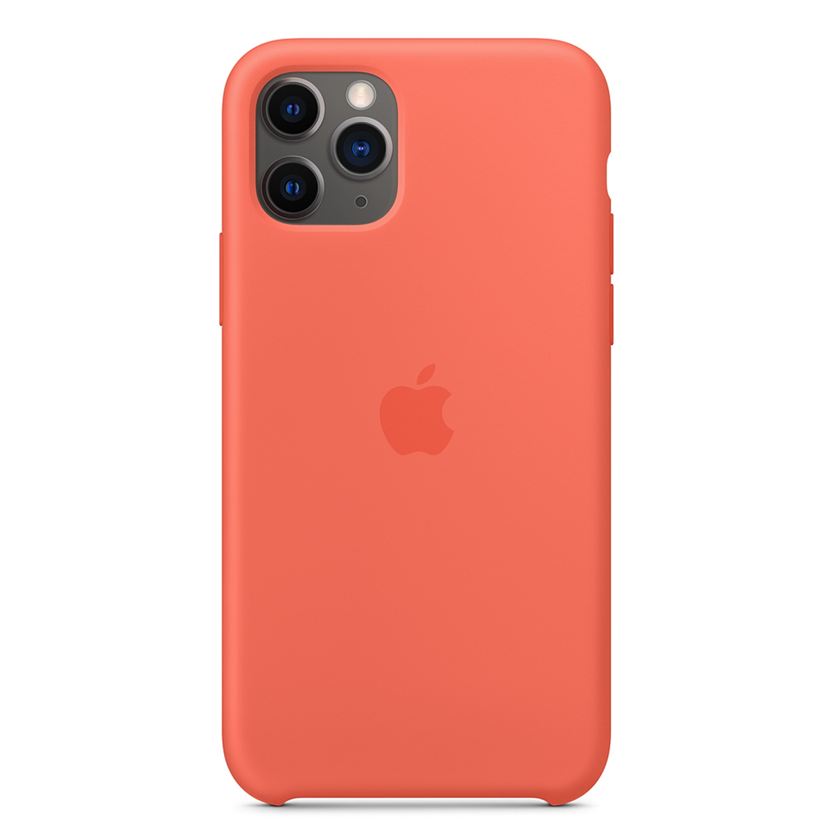iPhone 11 Pro Silicone Case Alaskan Clementine (Orange)