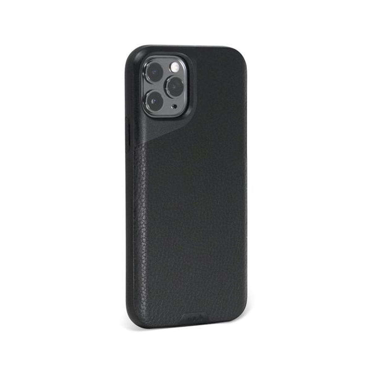 Mous - Contour Case for iPhone 11 Pro - Black Leather