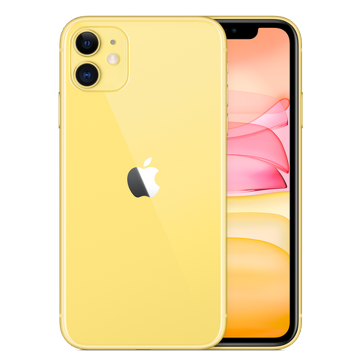 iPhone 11, Yellow, 256GB (Official Stock)