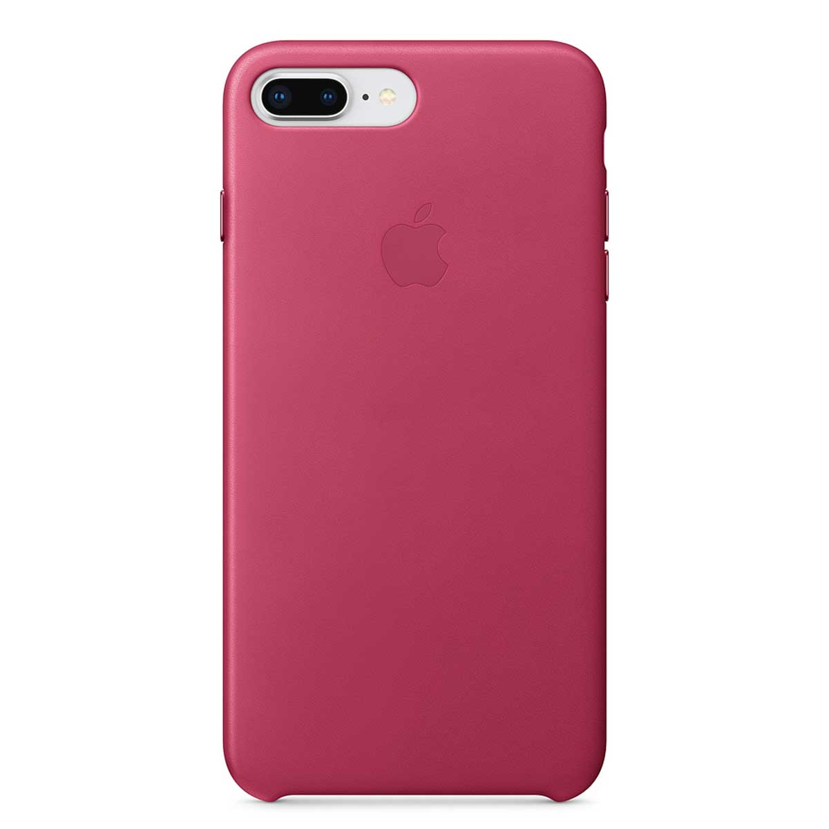 iPhone 8 Plus Leather Case Pink Fuchsia