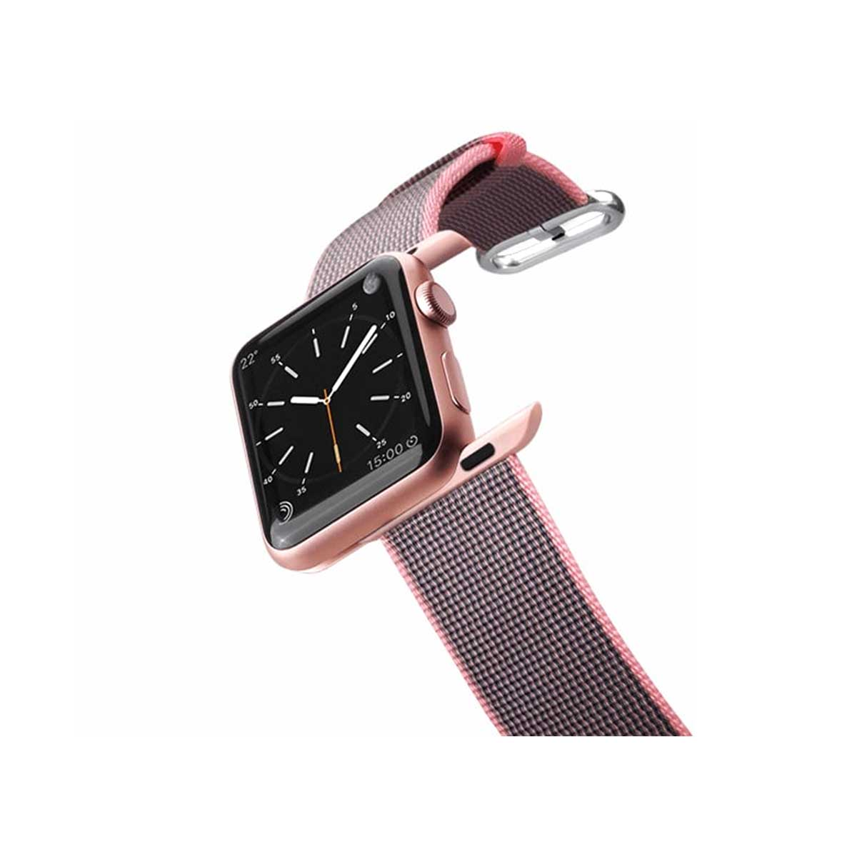Casetify Apple Watch Band Nylon Fabric - All Series 42MM - Pink