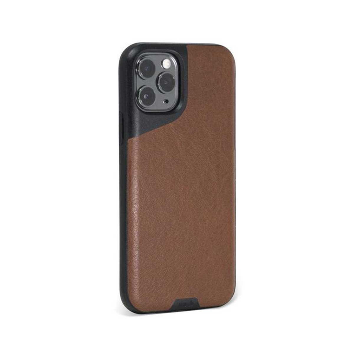 Mous - Contour Case for iPhone 11 Pro - Brown Leather