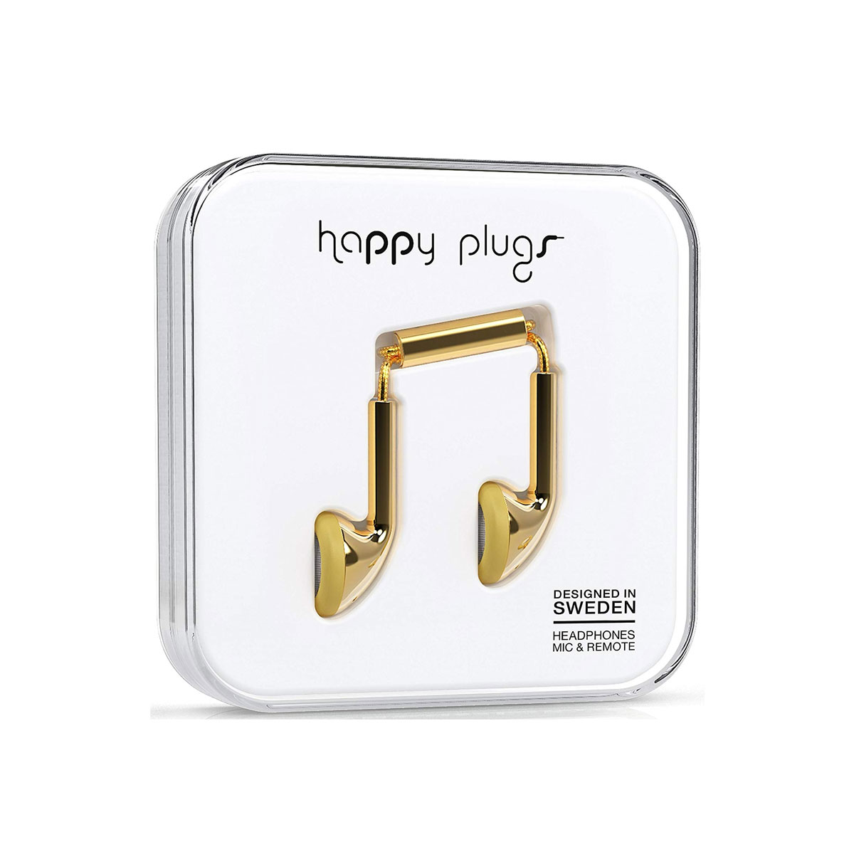 Happy Plugs Earbud - Gold