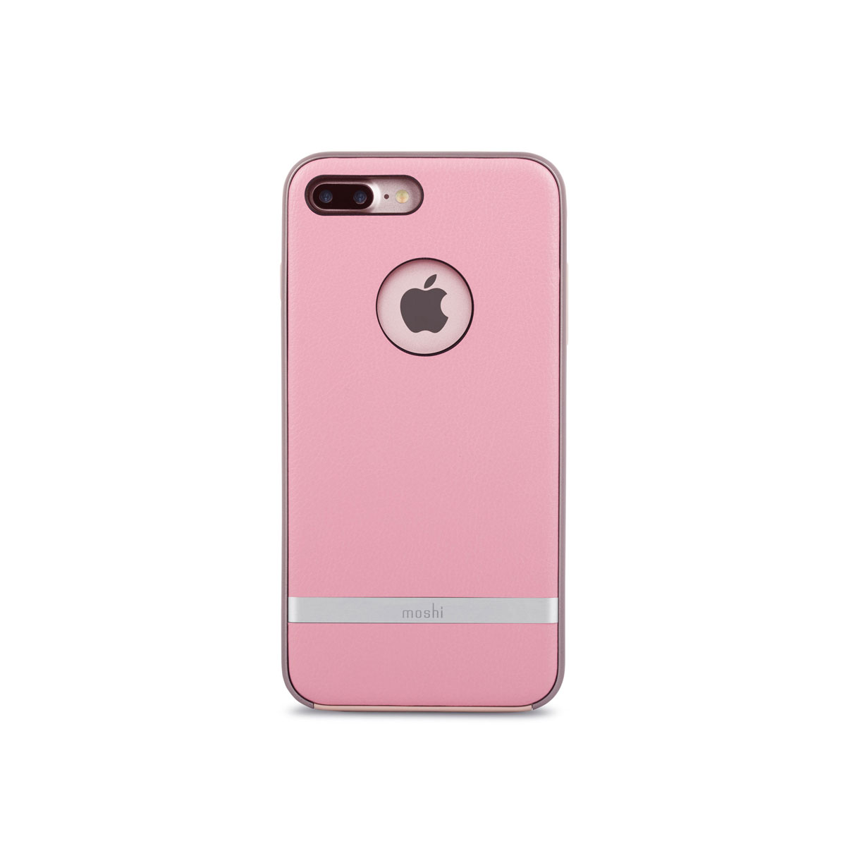 Moshi - Napa Leather Case for iPhone 7 Plus - Pink